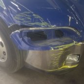 2012 Peterbuilt Fender Repair